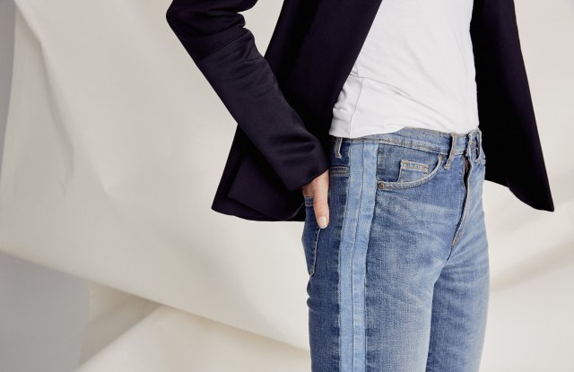 Outland Denim Stripe Jeans