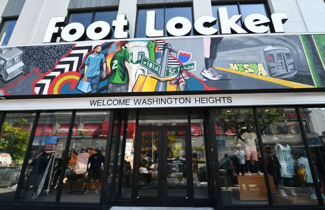 Foot Locker's Power Store in Washington Heights.