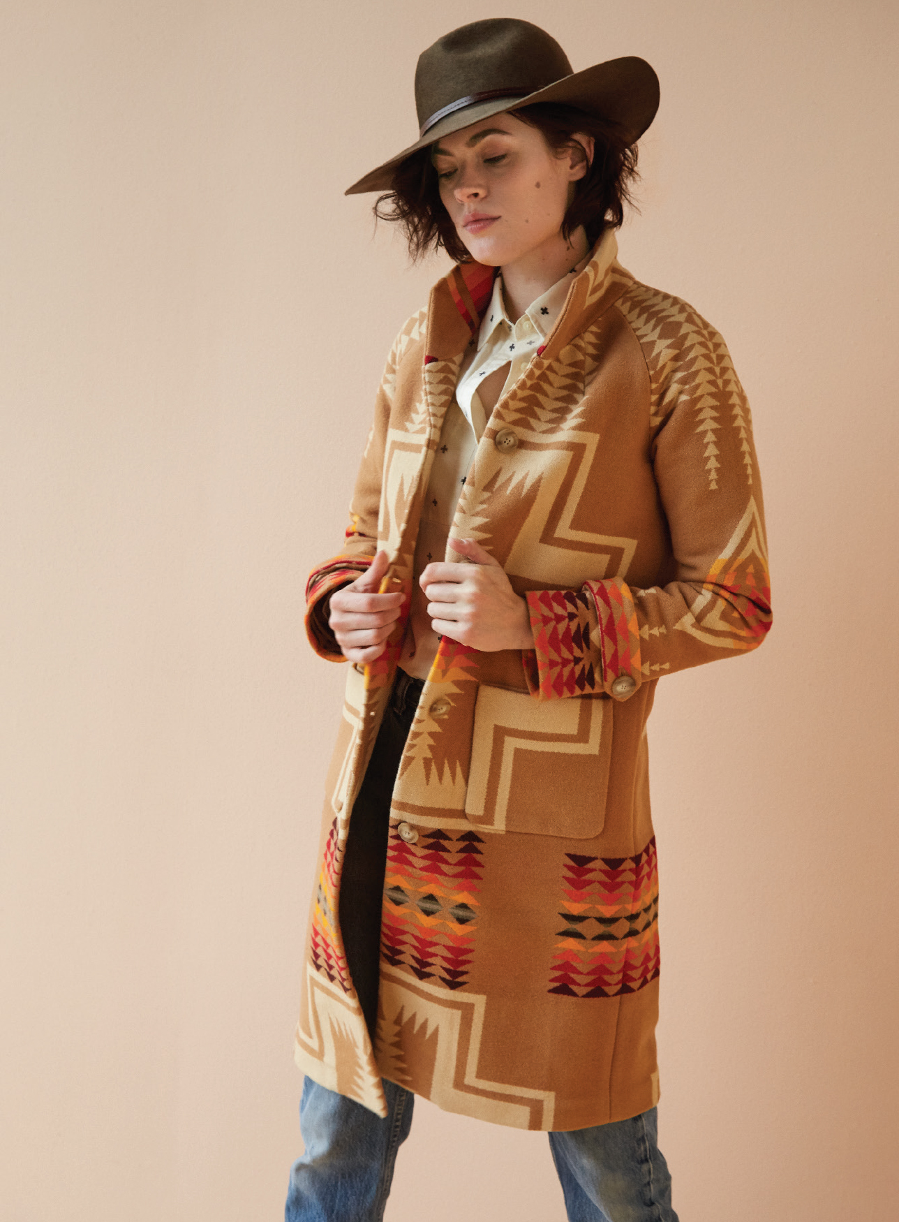 """Pendleton's """"Harding"""" coat was inspired by a design from the Thirties."""