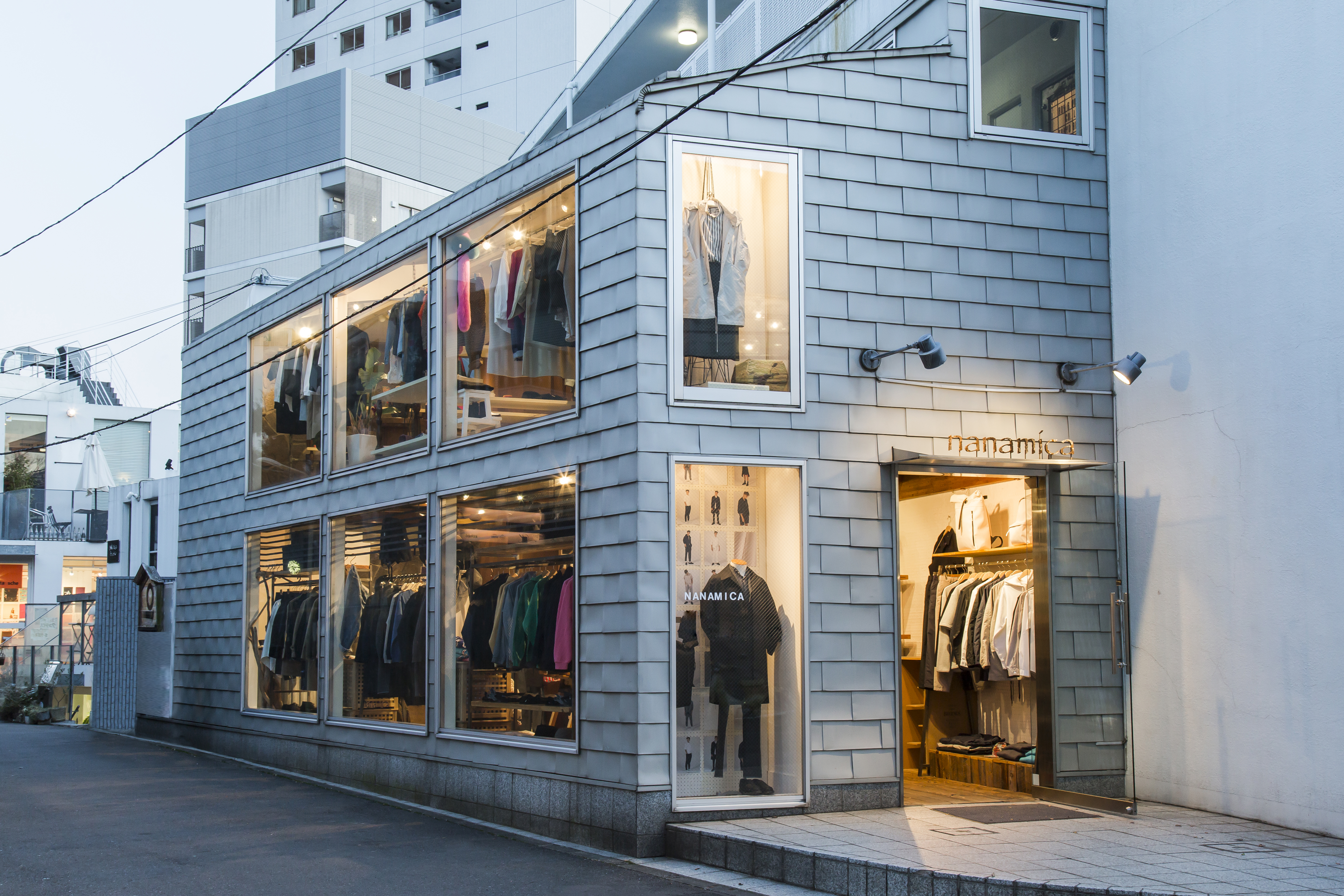 One of Nanamica's stores in Japan.