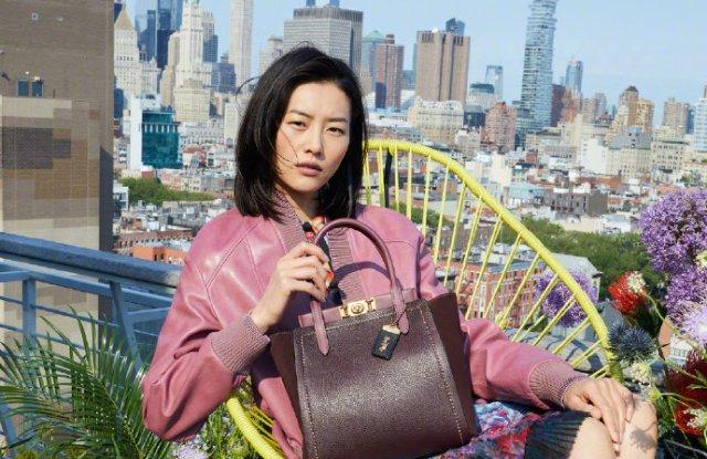 Liu Wen in a Coach campaign.