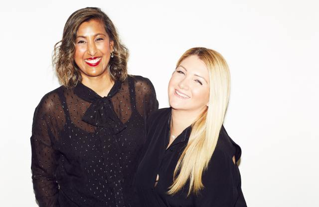 Sherry Jhawar and Allison Statter, cofounders of Blended Strategy Group.