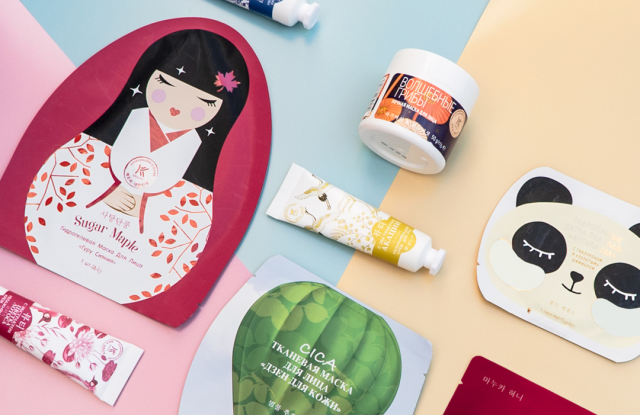 Avon's K-beauty collection.