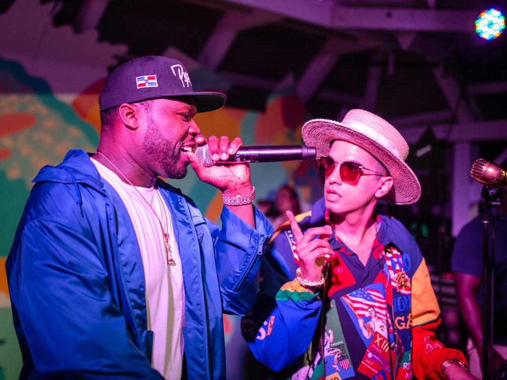 50 Cent and DJ Cassidy