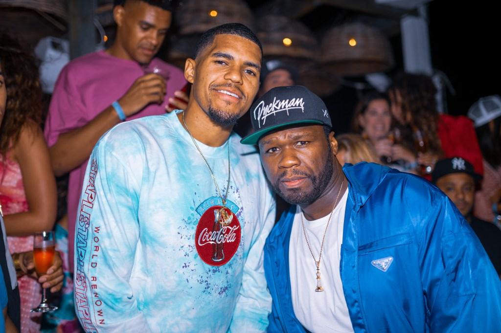 Tobias Harris and 50 Cent