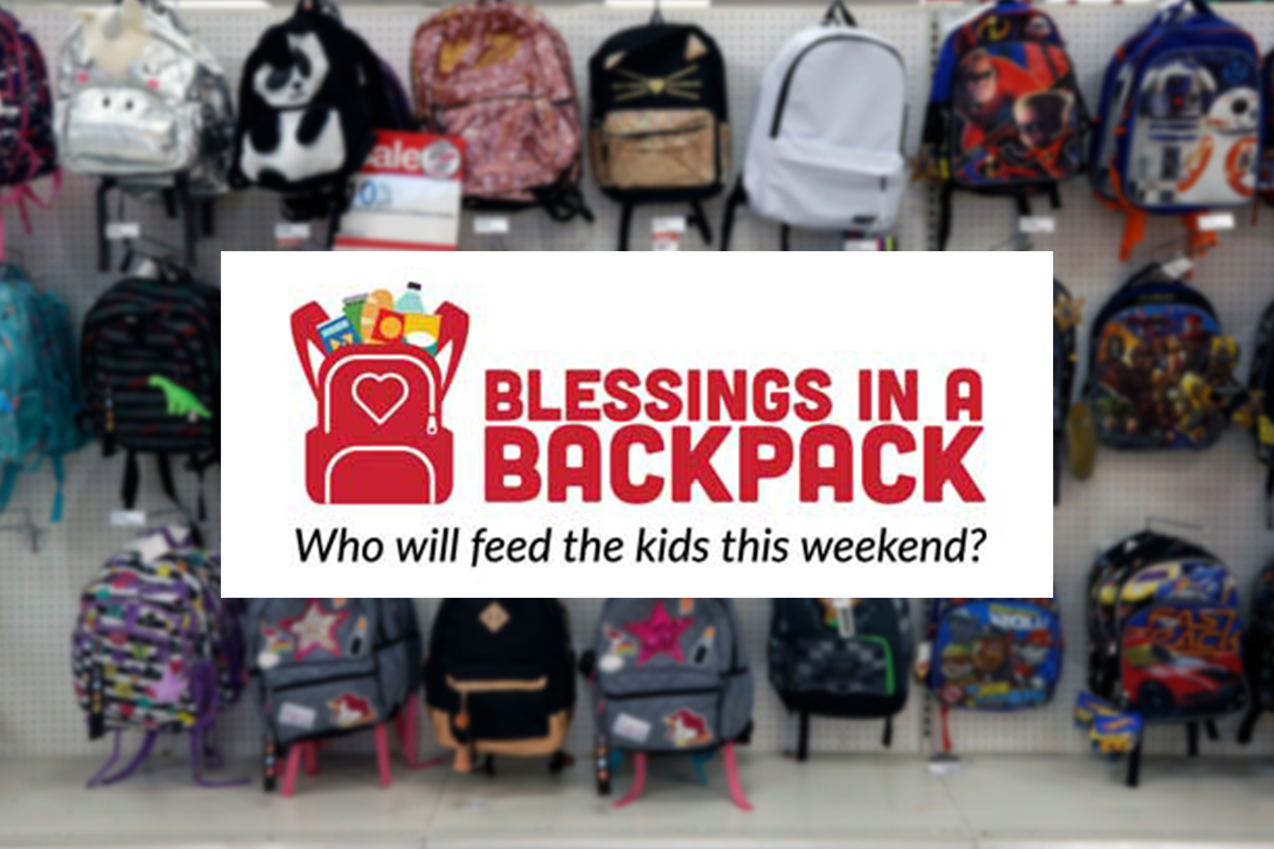 Vera Bradley is supporting Blessings in a Backpack.