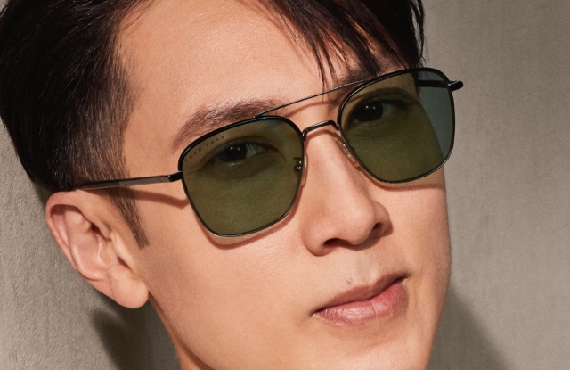The latest Boss eyewear ad campaign fronted by Brunei-born singer, actor and model Chun Wu.