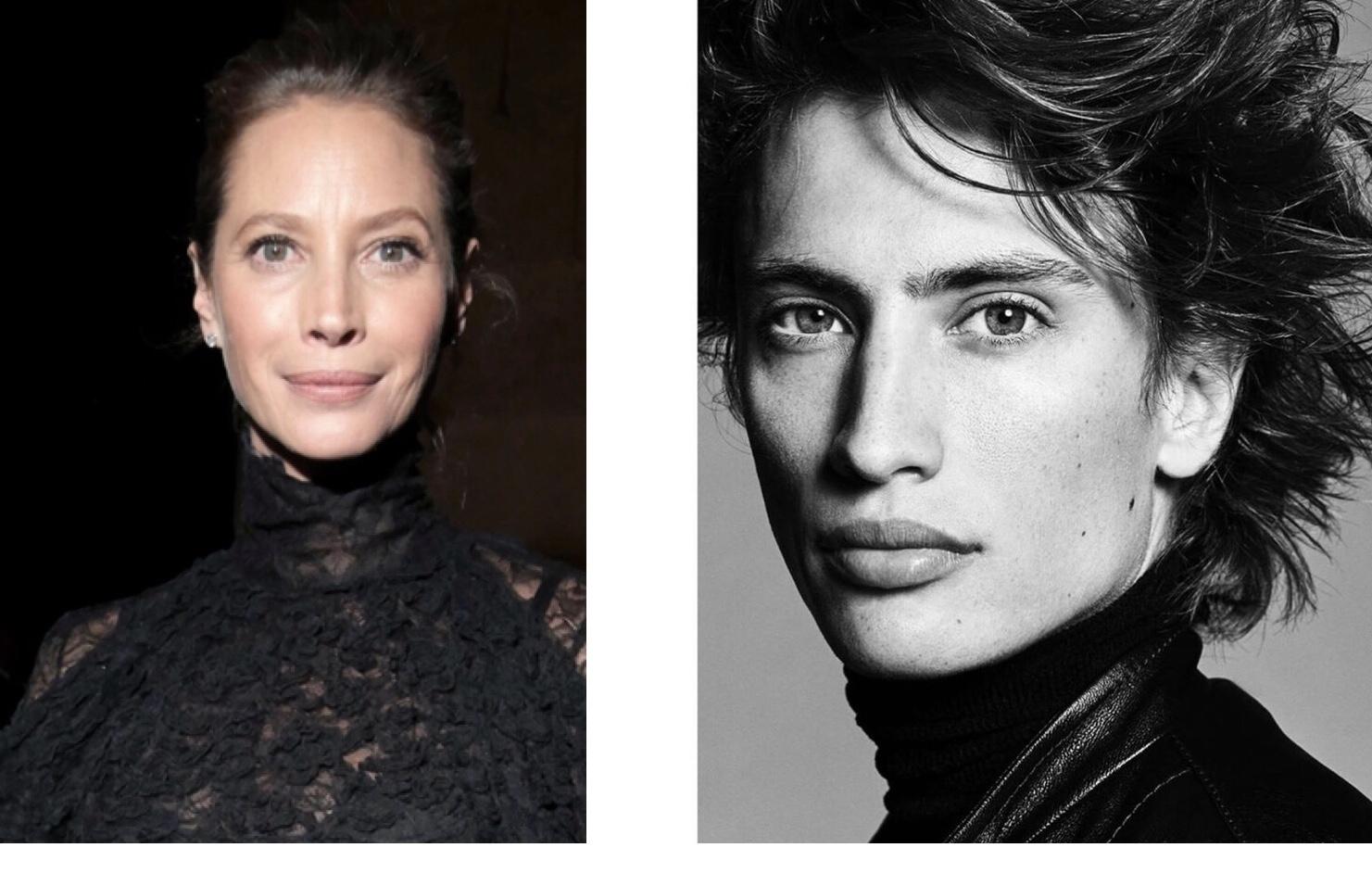 Christy Turlington Burns' Doppelgänger Nephew Joins IMG Models