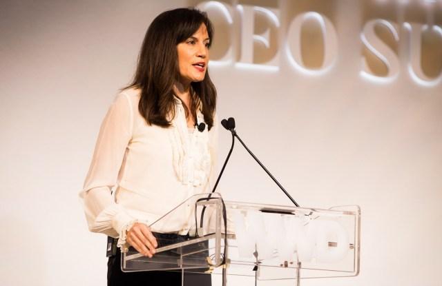 Daniella Vitale at the WWD Apparel and Retail CEO Summit 2017.