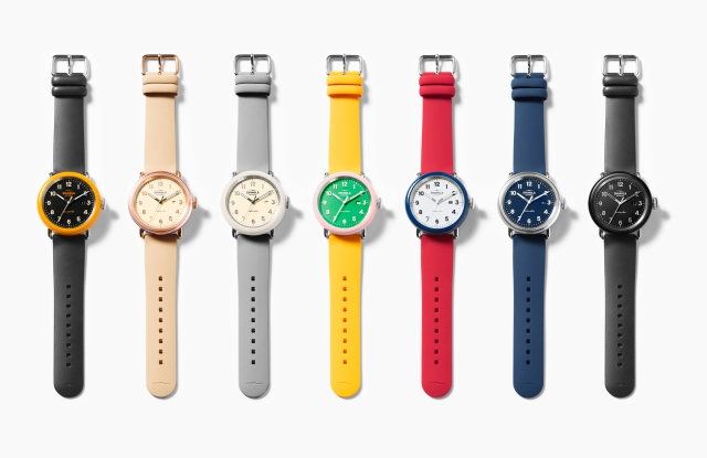 Shinola's new Detrola collection.