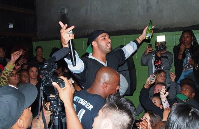 Drake at Alife Sessions