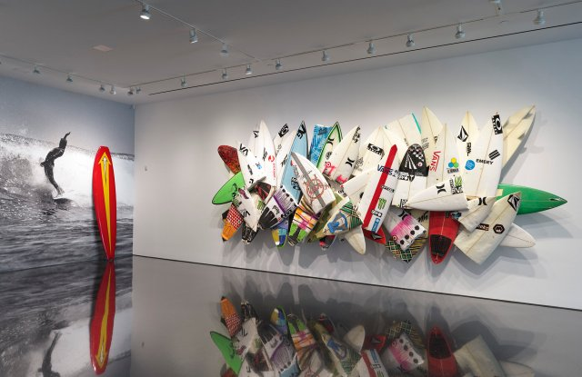 The Fletcher Family: A Lifetime in Surf, 2019, Installation View