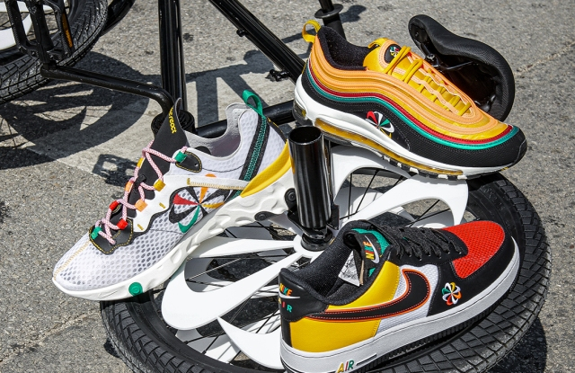 Foot Locker x the Evolution of the Swoosh collection.