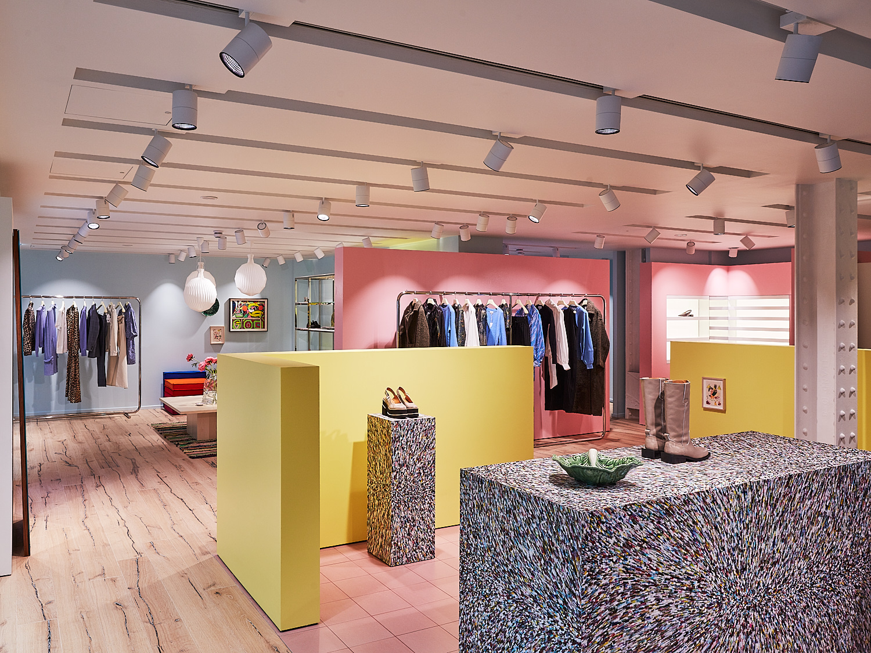 Inside the Ganni London store