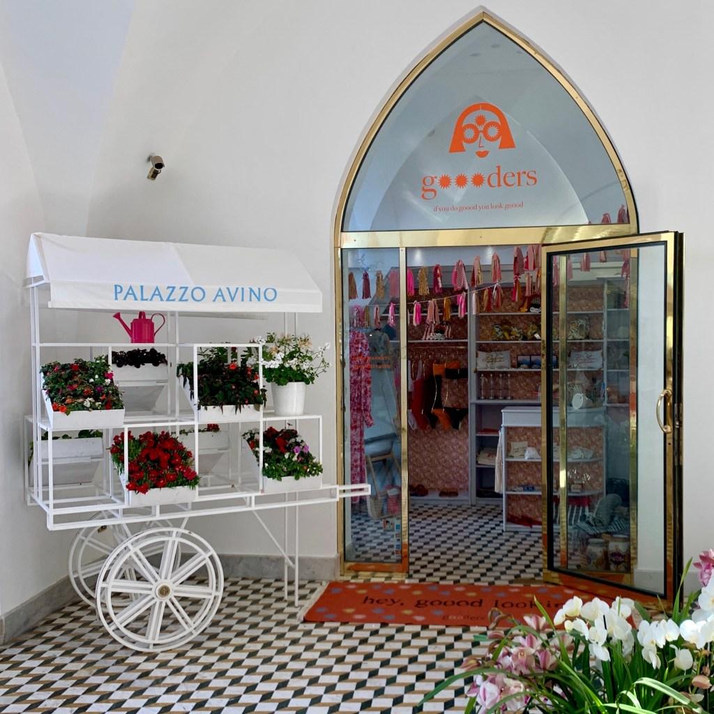 Goooders Pop-Up Store at Palazzo Avino