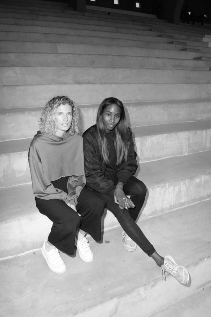 Olivia Borlée and Elodie Ouédraogo