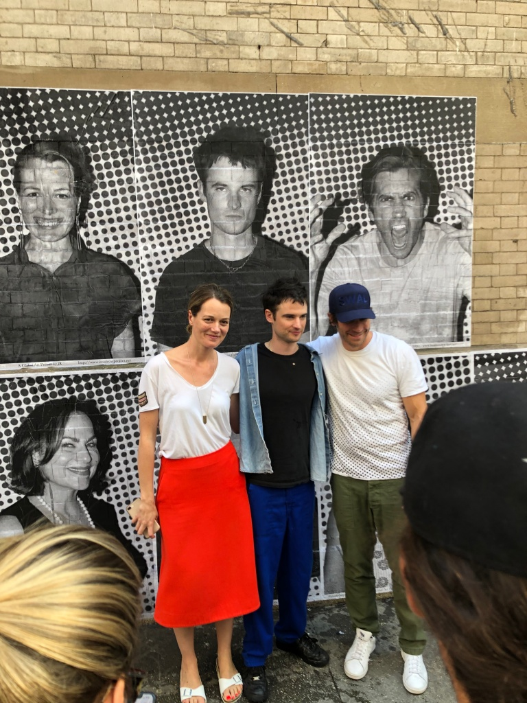 Carrie Cracknell, Tom Sturridge, and Jake Gyllenhaal