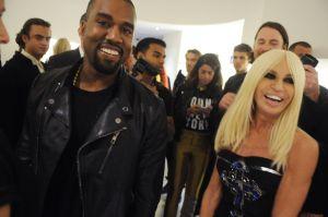 Kanye West, Donatella VersaceNew York