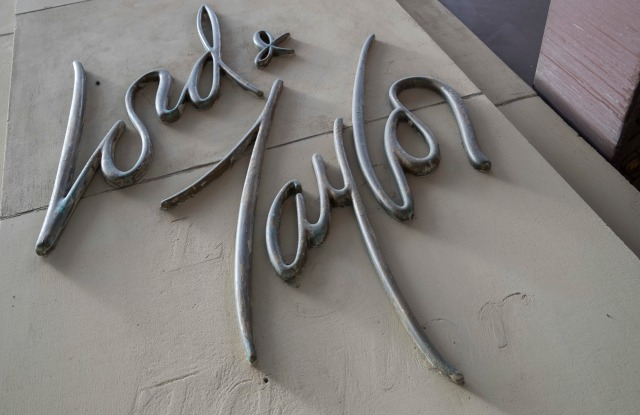 Lord & Taylor Signage