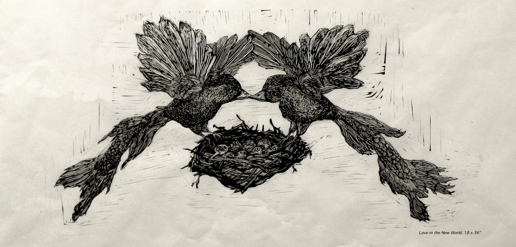 "Aliene De Souza Howell, ""Love in the New World"""