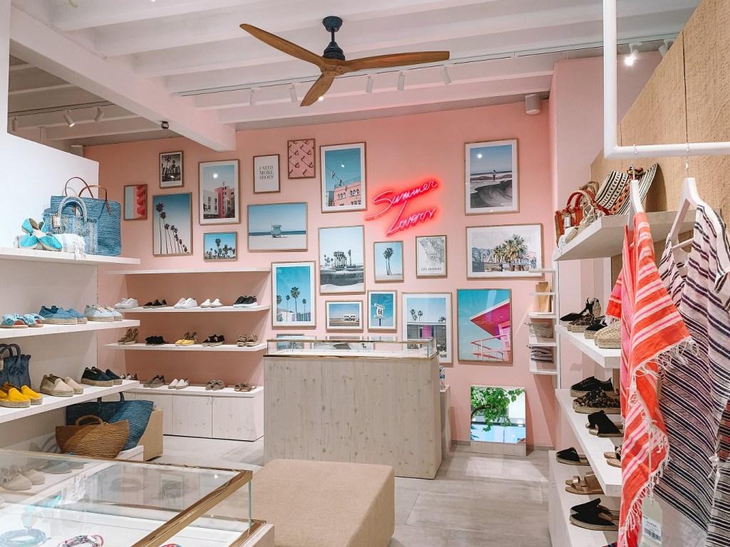 Manebì store in Ibiza