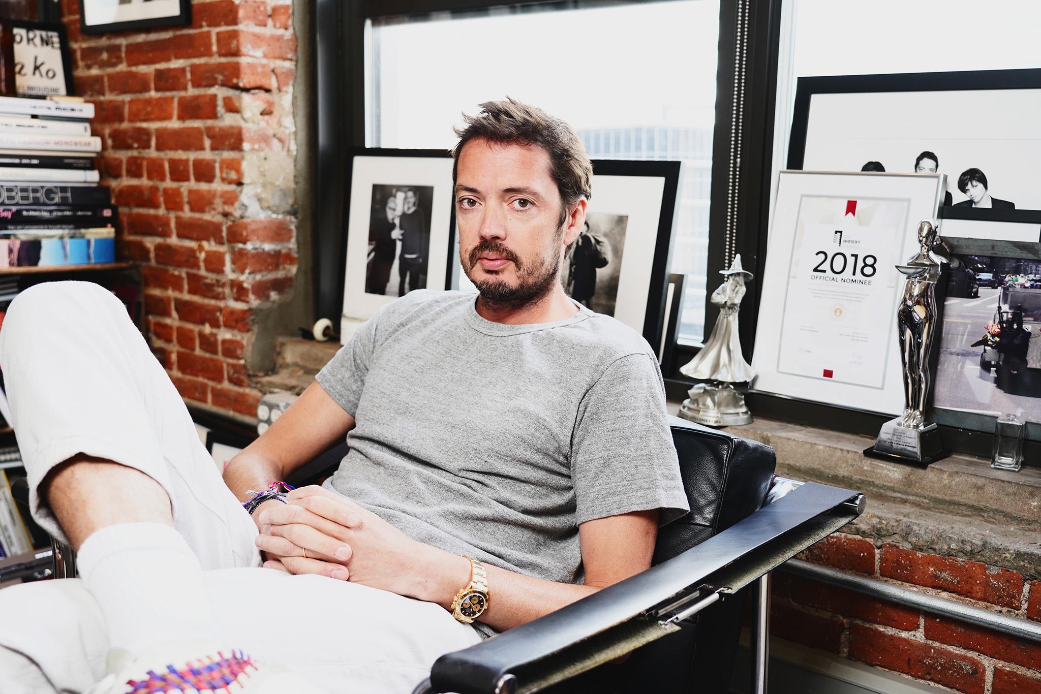 rag and bone designer Marcus Wainwright