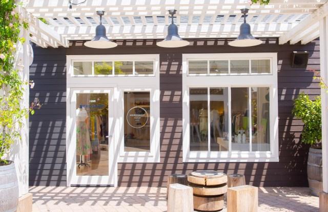 Exterior shot of Hero Shop in Marin