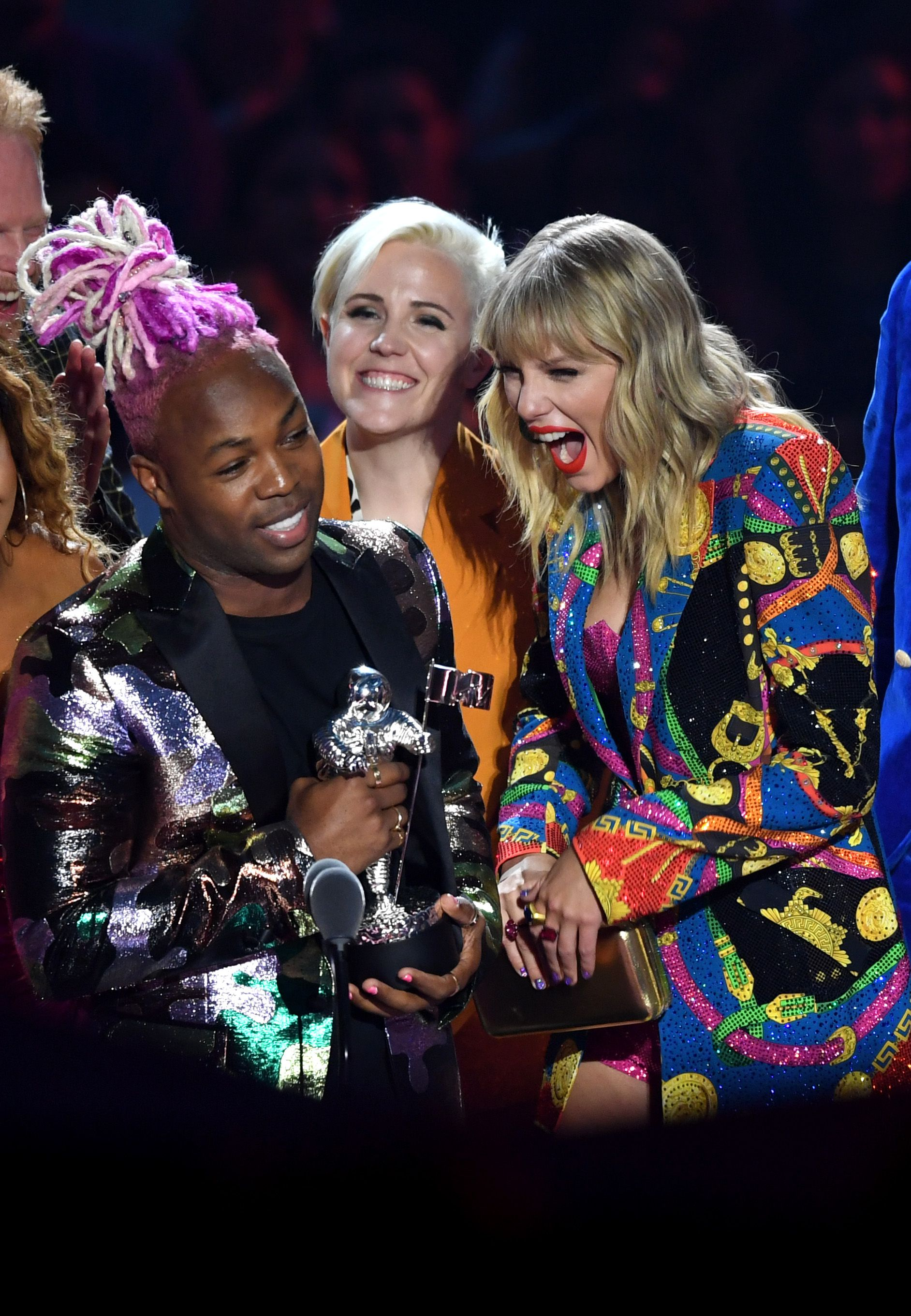 Taylor Swift and Todrick Hall - Video for GoodMTV Video Music Awards, Show, Prudential Center, New Jersey, USA - 26 Aug 2019