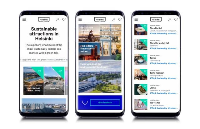 Helsinki, Think Sustainably App