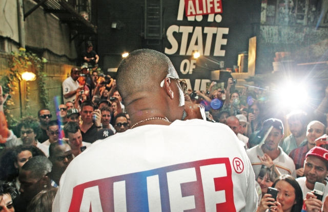 Nas at Alife Sessions in 2008