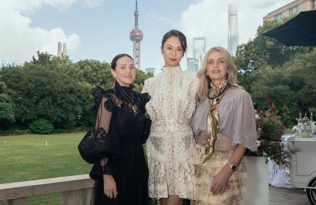 Zimmermann sisters hosted a dinner in Shanghai.