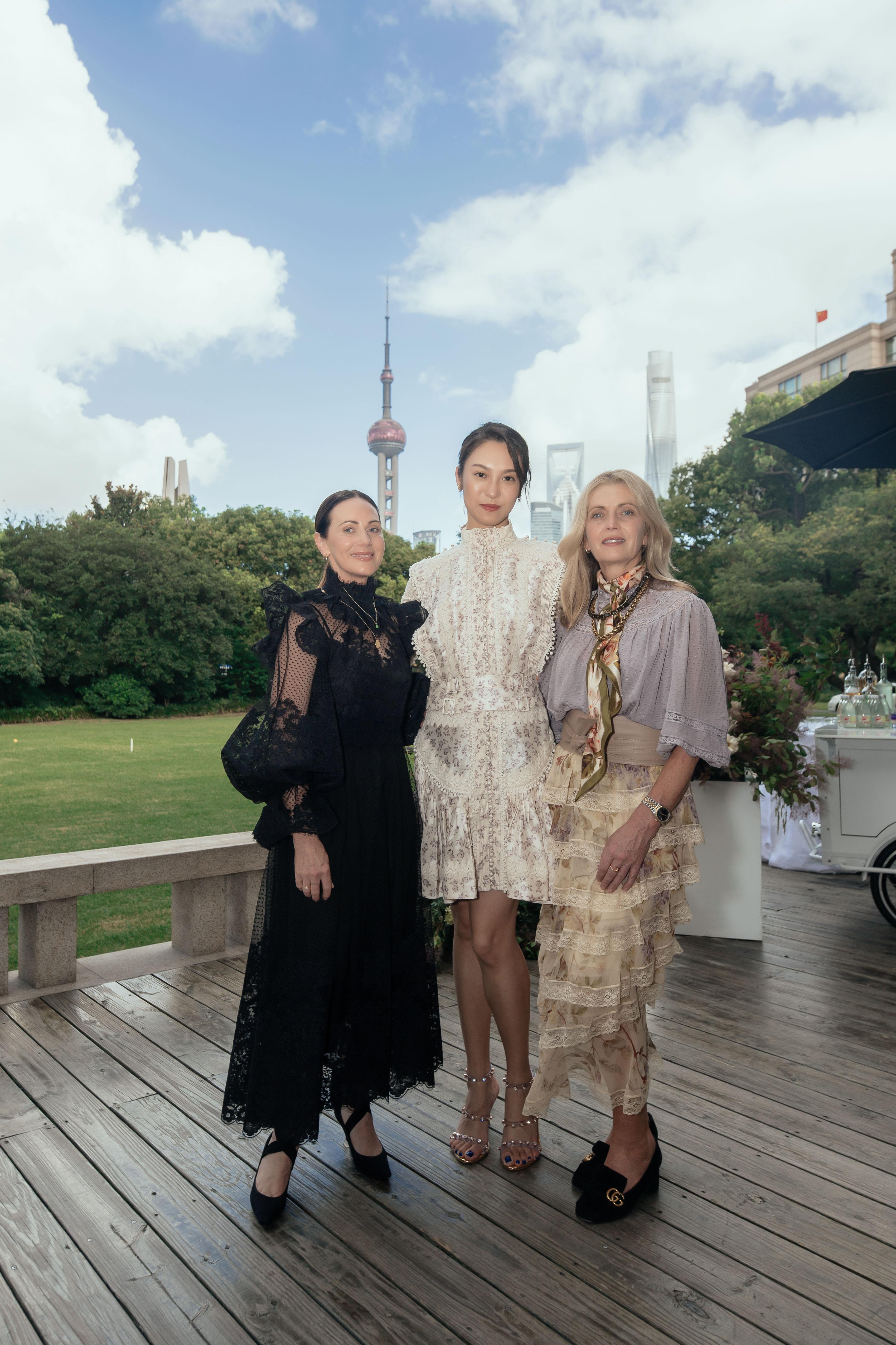 Zimmermann sisters hosted a dinner in Shanghai.