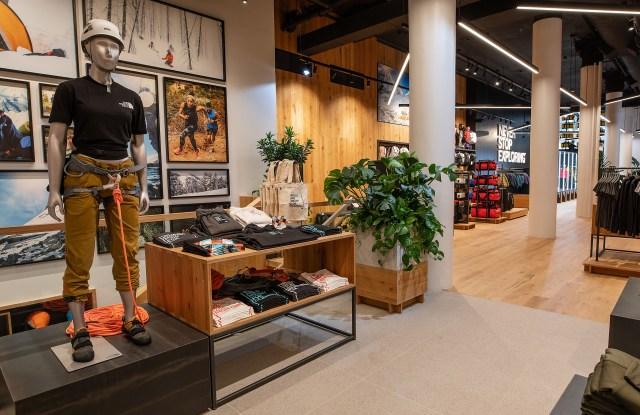 The Northface Store in Soho, New York.