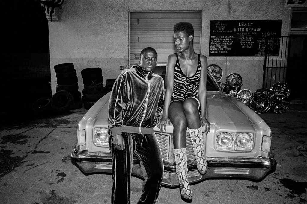 """Slim (Daniel Kaluuya) and Queen (Jodie Turner-Smith) in """"Queen & Slim,"""" directed by Melina Matsoukas."""
