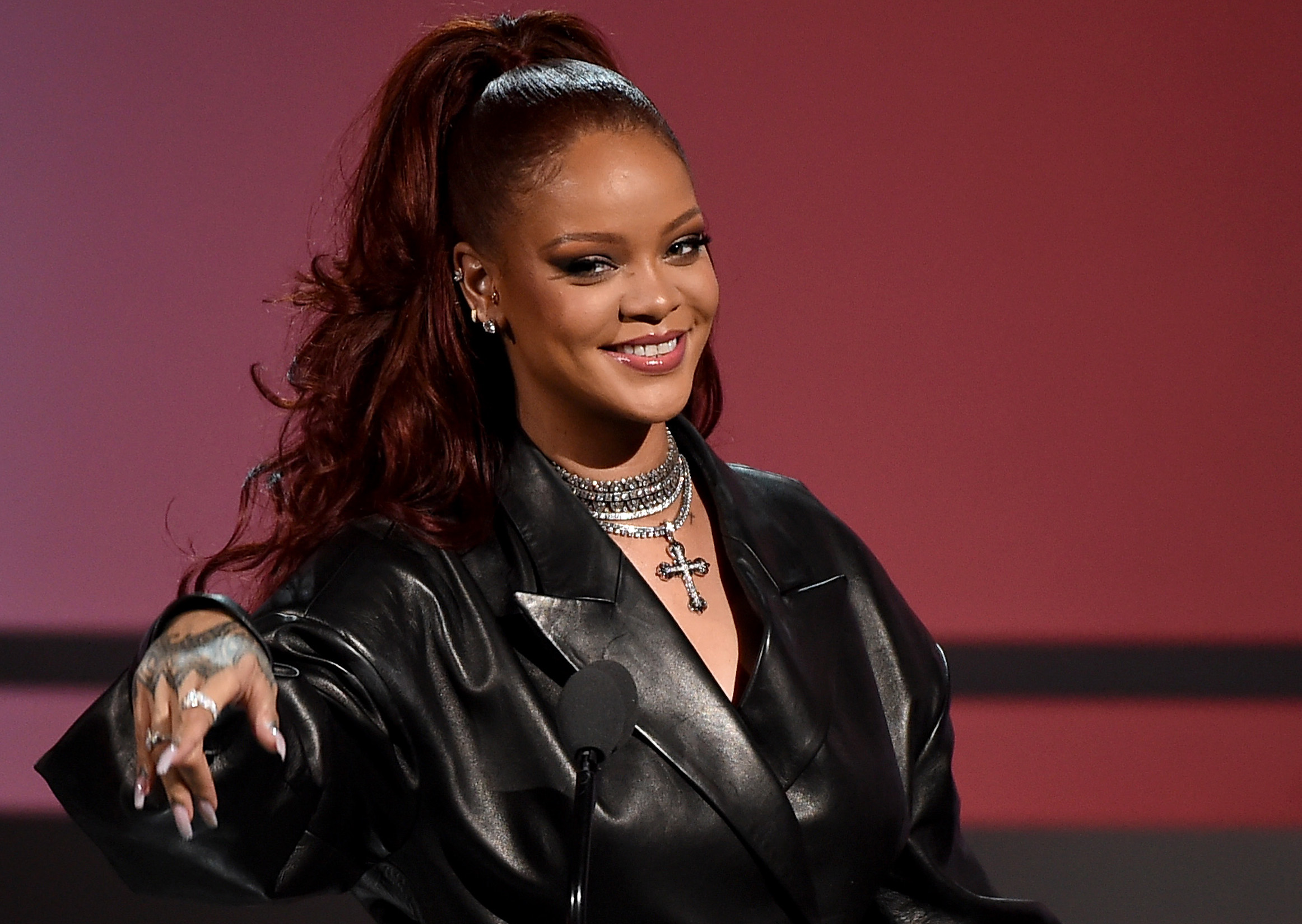 Rihanna at the 2019 BET Awards