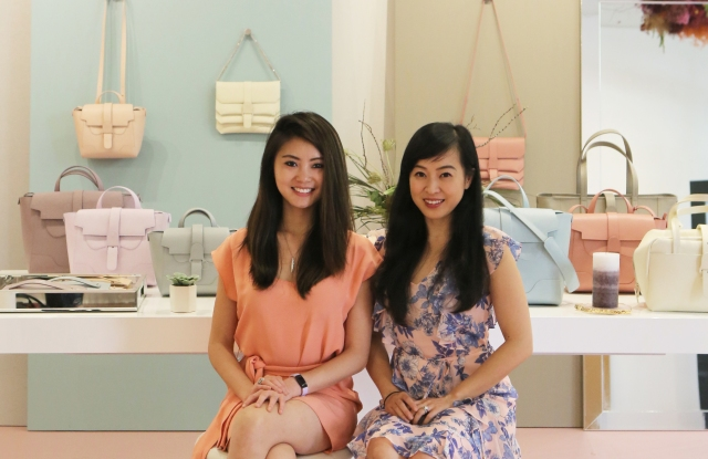 Senreve cofounders Wendy Wen and Coral Chung.