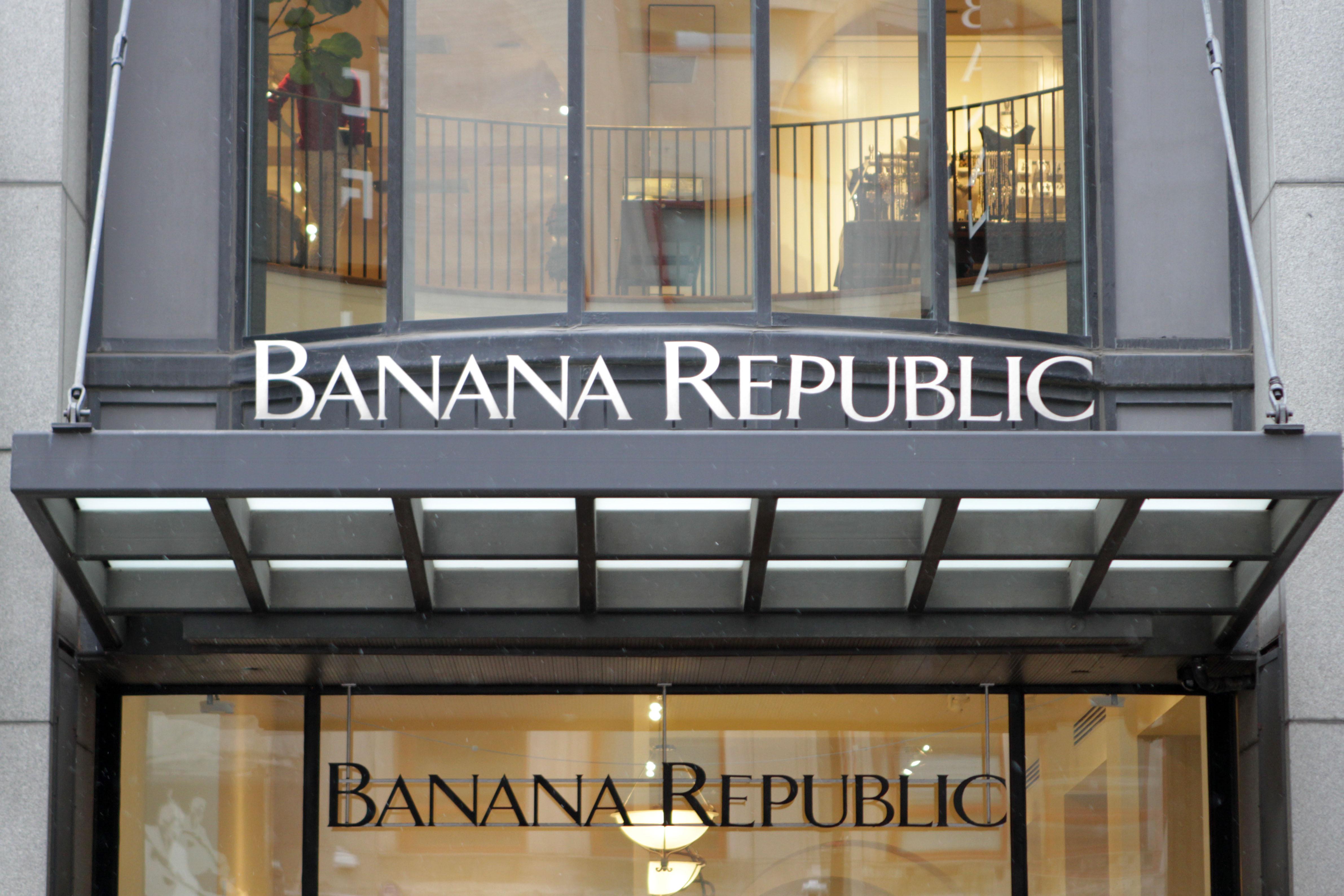 Banana Republic is part of Gap Inc.