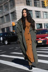 Nausheen ShahStreet Style, Fall Winter 2019, New York Fashion Week, USA - 09 Feb 2019