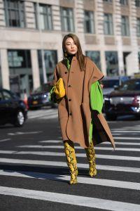 Street StyleStreet Style, Fall Winter 2019, New York Fashion Week, USA - 10 Feb 2019