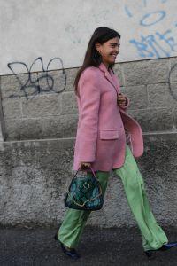 Street StyleStreet Style, Fall Winter 2019, Milan Fashion Week, Italy - 22 Feb 2019