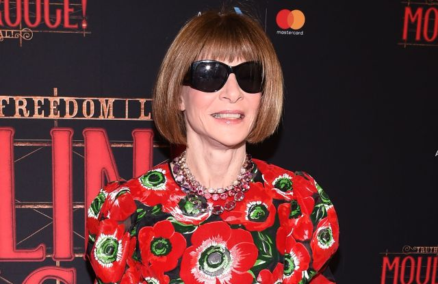 Anna WintourOpening Night of 'Moulin Rouge! The Musical' on Broadway, Arrivals, Al Hirschfeld Theater, New York, USA - 25 Jul 2019Wearing Dolce & Gabbana