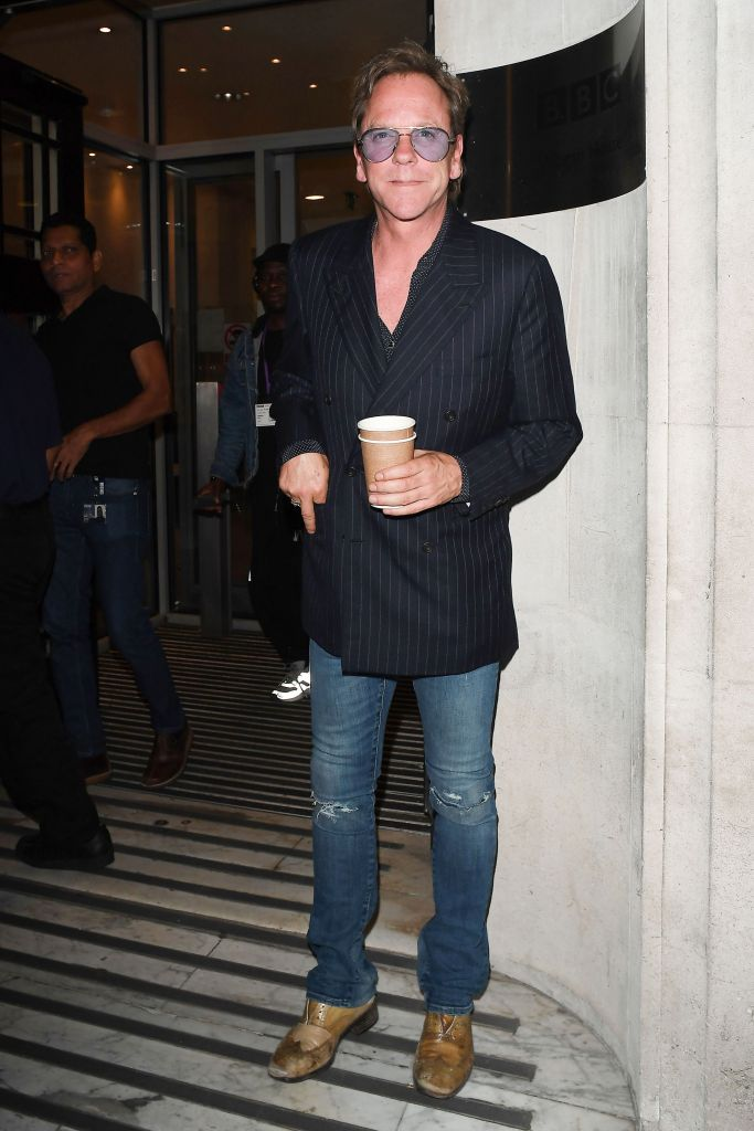 Kiefer Sutherland at BBC Radio 2 StudiosKiefer Sutherland out and about, London, UK - 02 Aug 2019
