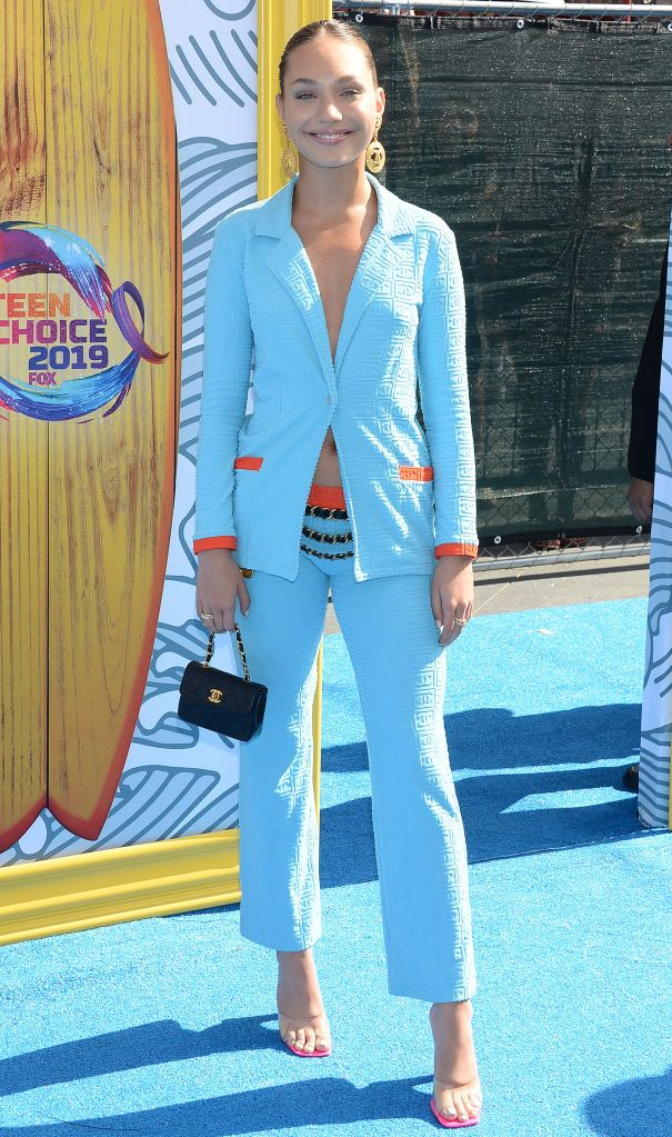 Maddie ZieglerTeen Choice Awards, Arrivals, Los Angeles, USA - 11 Aug 2019Wearing Chanel