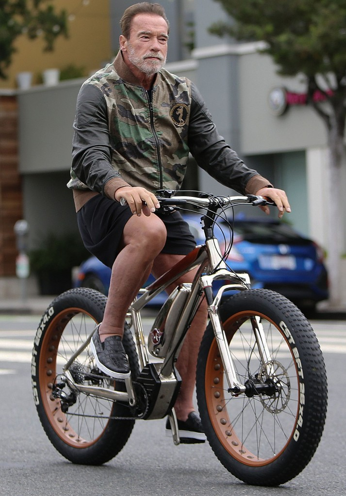Arnold SchwarzeneggerArnold Schwarzenegger out and about, Los Angeles, USA - 17 Aug 2019
