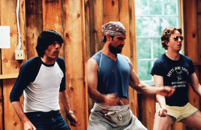 "A still from ""Wet Hot American Summer,"" one of the films the directors named as a quintessential summer movie."