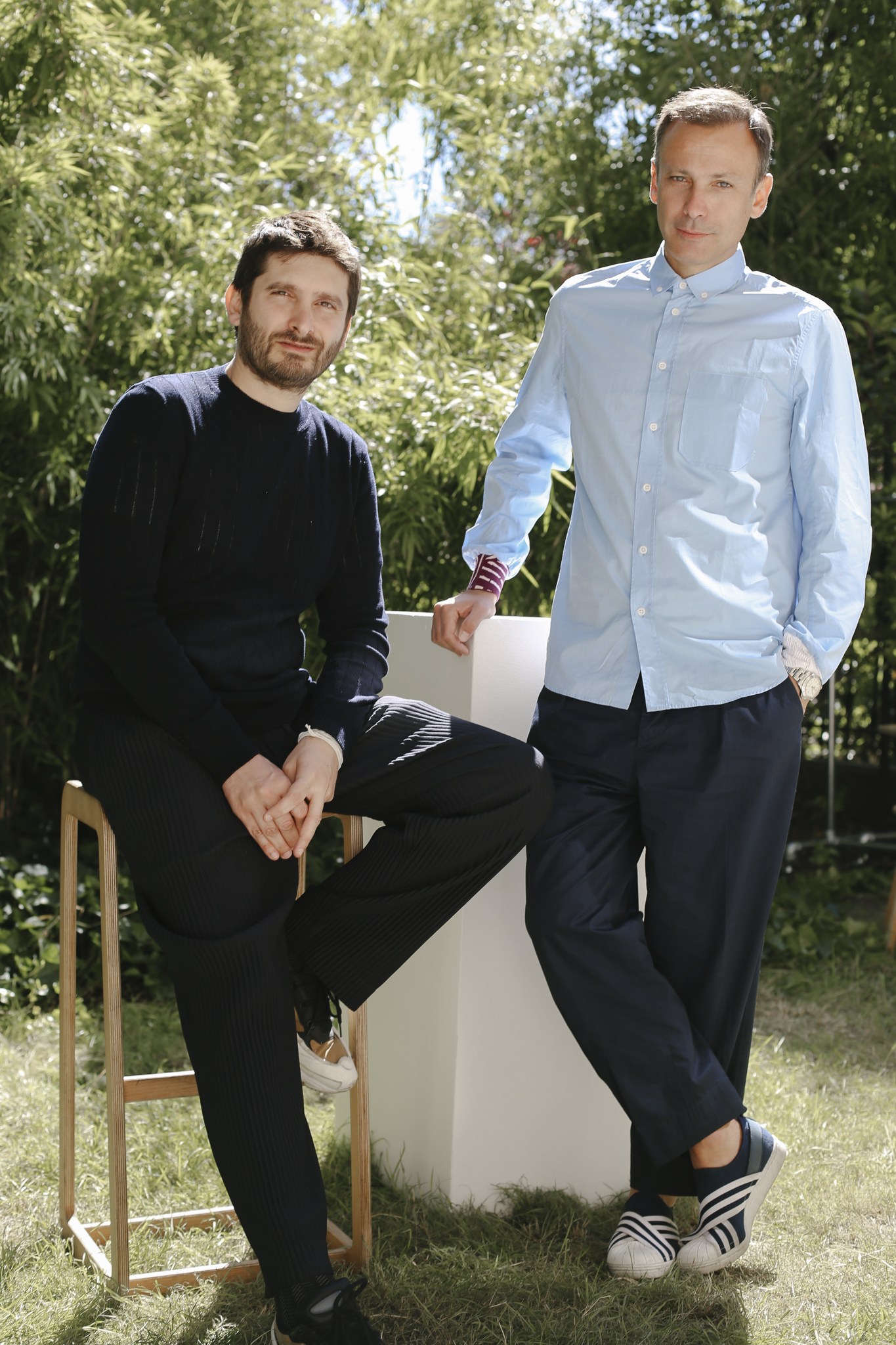 Giancarlo Simiri and Stefano Martinetto of Tomorrow London.