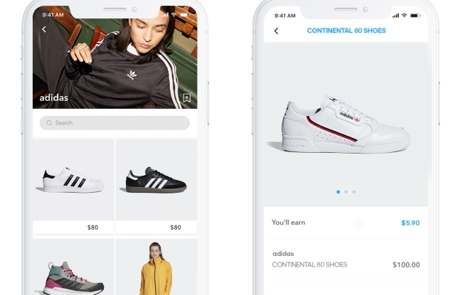 Adidas is using Storr as a sales tool.