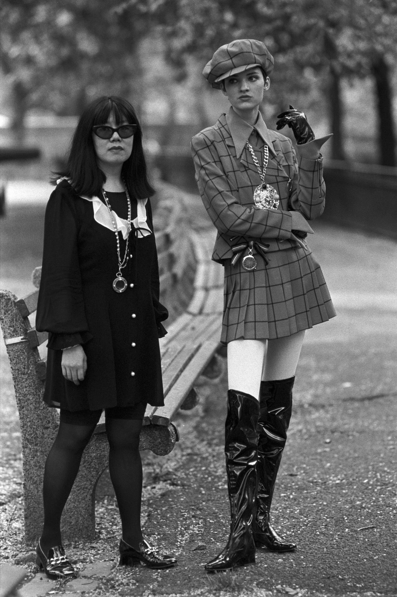 Anna Sui, 1991.