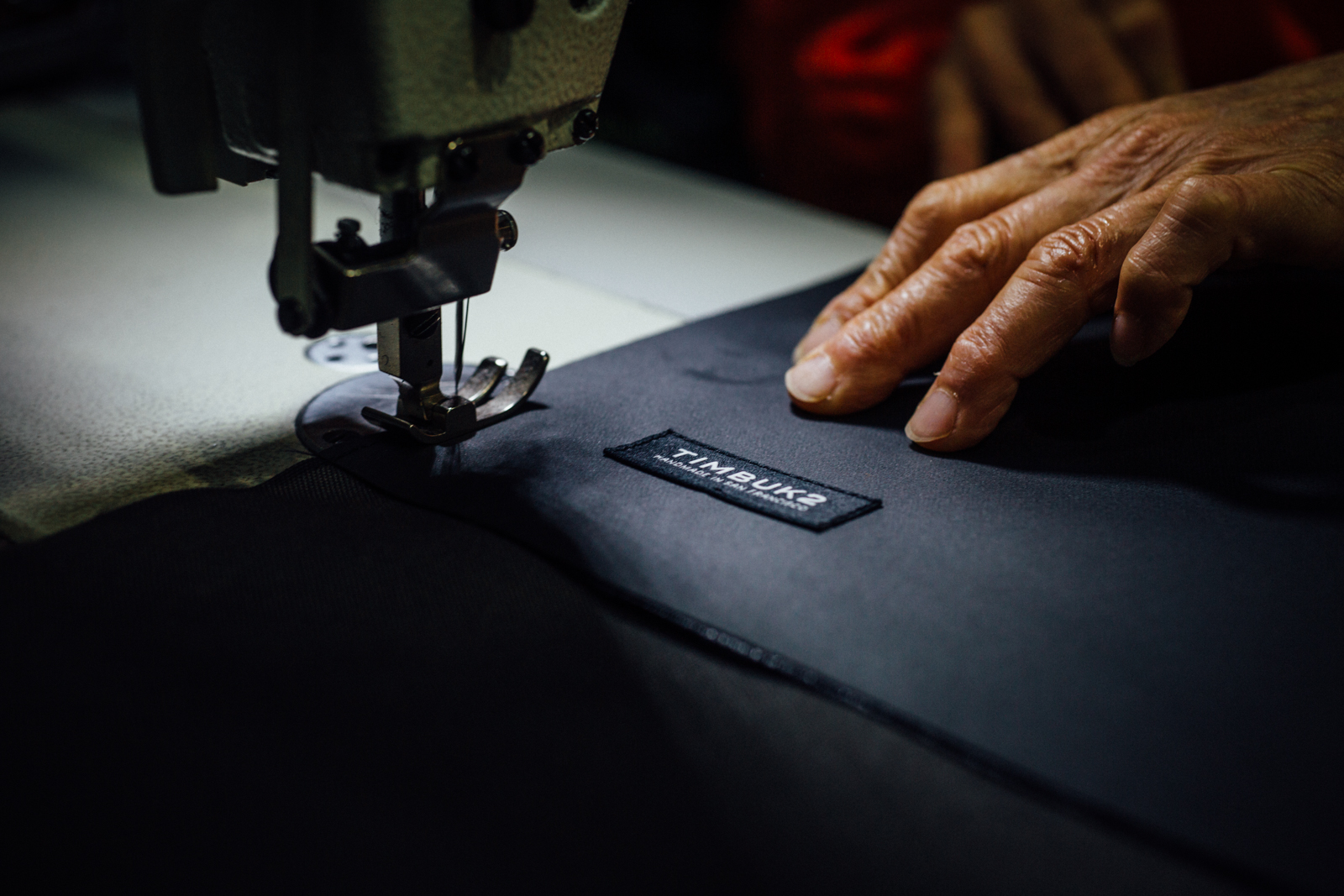 Timbuk2 is now owned by custom office furniture maker Exemplis.