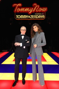 PARIS, FRANCE - MARCH 02: A model walks the runway during the Tommy Hilfiger TOMMYNOW Spring 2019 : TommyXZendaya Premieres at Theatre des Champs-Elysees on March 02, 2019 in Paris, France. (Photo by Tim P. Whitby/WireImage)